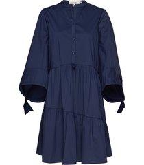 hasty korte jurk blauw munthe