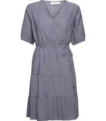crylia dress dresses everyday dresses blå cream
