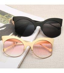occhiali da sole anti-vertigo ad alta definizione con montatura in metallo da donna outdoor anti-uv eye occhiali