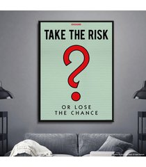 cuadro lienzo tayrona store monopoly - take the risk