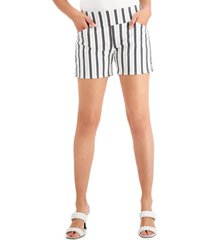 inc printed pull-on career shorts, created for macy's