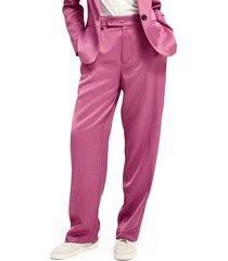 women's scotch & soda high waist pants, size x-small - pink