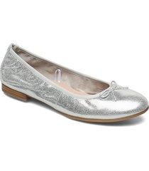 woms ballerina ballerinaskor ballerinas silver tamaris