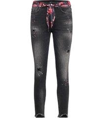 denim bow skinny jeans blå desigual