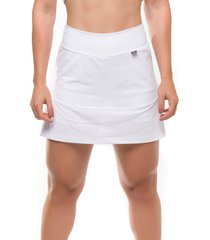 shorts-saia sandy fitness energize branco - branco - feminino - poliamida - dafiti
