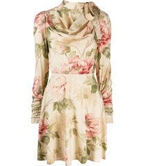 zimmermann antique peony dress - neutrals