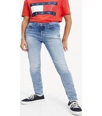 jeans skinny nora indigo tommy jeans