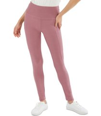 hippie rose juniors' pull-on side-pocket leggings