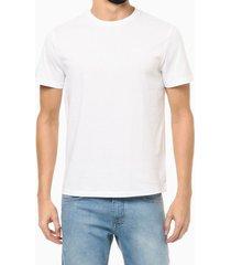 camiseta mg curta básica algodão pima - branco - p