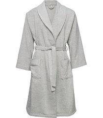 organic terry bathrobe morgonrock badrock grå gant