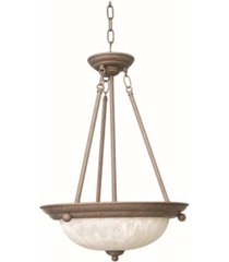 volume lighting marti 3-light hanging pendant
