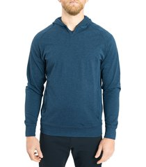 men's public rec politan performance hoodie, size xx-large - blue