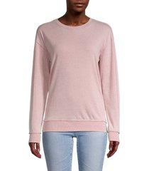 21 main women's roundneck dropped-shoulder sweatshirt - green bay - size xl