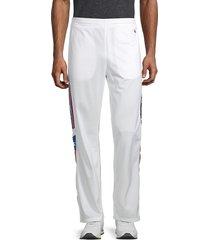 champion men's logo-tape pants - white - size xl