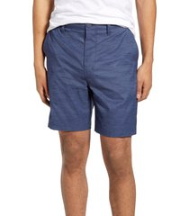 men's hurley marwick dri-fit golf shorts, size 34 - blue