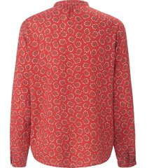 blouse van peter hahn rood