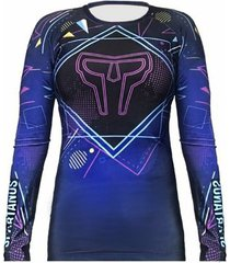 camiseta rash guard neon spartanus fightwear