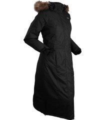 cappotto termico con ecopelliccia (nero) - bpc bonprix collection