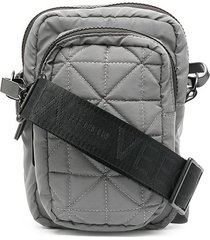 veecollective airliner reflective messenger bag - grey