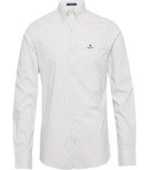 d1. tp bc micro print slim hbd overhemd casual wit gant