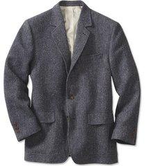lightweight highland tweed sport coat / regular, blue/gray, 38