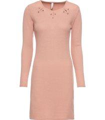 abito in maglia con applicazioni (fucsia) - bodyflirt boutique