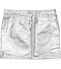 1017 alyx 9sm foil denim skirt