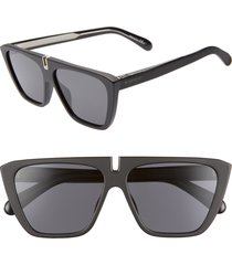 women's givenchy 58mm flat top sunglasses -