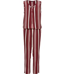 tuta elegante con zip (rosso) - bodyflirt
