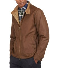 barbour men's brobel waxed cotton jacket