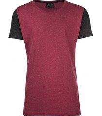 kultivate stevig bordeaux t-shirt