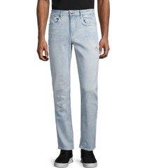buffalo david bitton men's ash-x slim-fit jeans - indigo - size 30 32