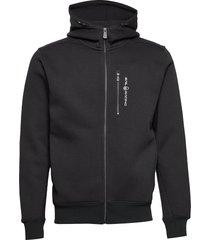 bowman zip hood hoodie trui zwart sail racing