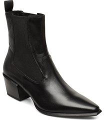 betsy shoes boots ankle boots ankle boots with heel svart vagabond
