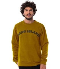 moletom long island way masculino