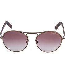 54mm matte avaitor sunglasses