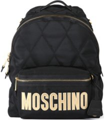 women's quilted nylon logo backpack (46% off) - comparable value $740