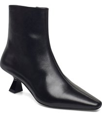 lissie shoes boots ankle boots ankle boot - heel svart vagabond