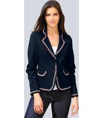 blazer alba moda marine::rood