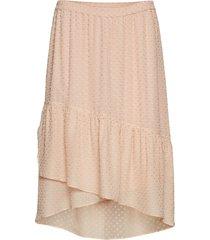 julia frill midi skirt knälång kjol rosa mayla stockholm