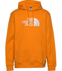 m drew peak plv hd hoodie trui oranje the north face