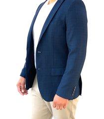 blazer azul oscar de la renta a9blz01-nv