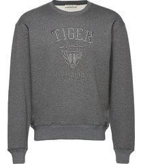 zoab emb sweat-shirt trui grijs tiger of sweden jeans