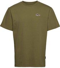 fish t-shirt t-shirts short-sleeved grön forét