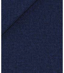 pantaloni da uomo su misura, loro piana, natural stretch blu grisaglia, quattro stagioni | lanieri