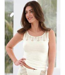 hemd met chique kant van nina v. c. beige