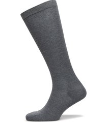 knee solid plain lingerie hosiery socks grå mp denmark