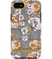 richmond & finch floral tweed case for iphone 6/6s, 7 and 8
