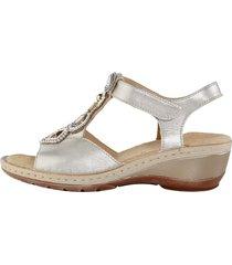 sandaletter ara silverfärgad