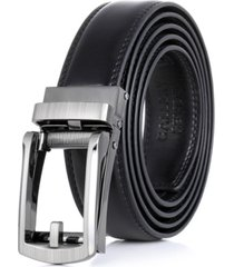 gallery seven men's adjustable leather ratchet belt